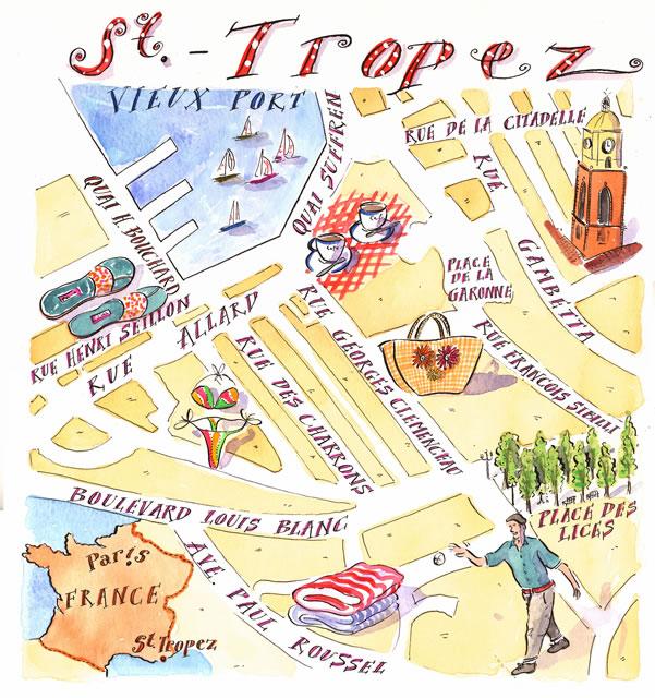 Топ 10 достопримечательностей Сен-Тропе